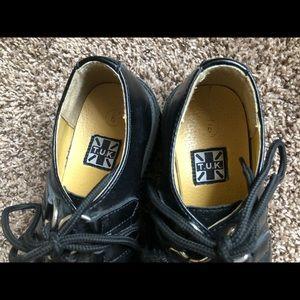 T.U.K Shoes - Plain Black TUK Creepers   Will take offers
